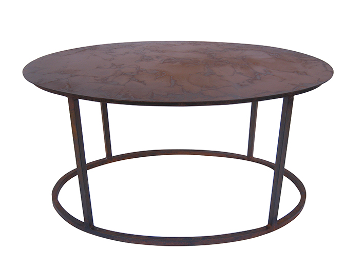 ROMAN CARGO oval coffee table